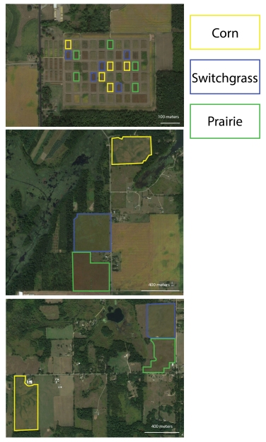 Field Site Map